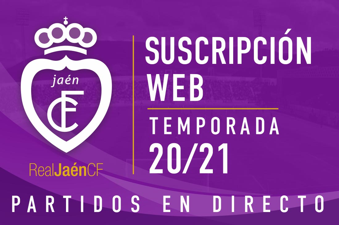 Real Jaen C.F Abono Web - Partidos en directo